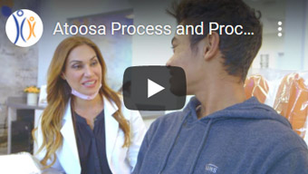 Image of Atoosa Process and Procedures Click to See Video