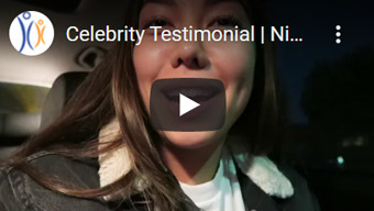 Image of Celebrity Testimonial Click to See Video