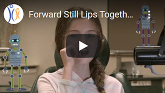 Image of Forward Still Lips Together Kids Click to See Video